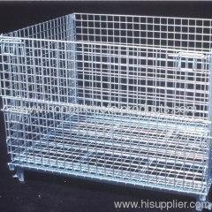 bulk galvanized wire mesh container