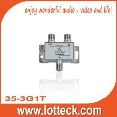 CE Certifcated 35-3G1T SAT 1-way tap