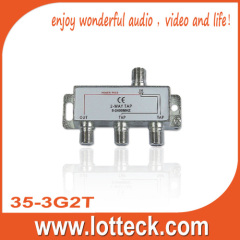 5-2400MHz LOTTECK 35-3G2T 2-WAY TAP
