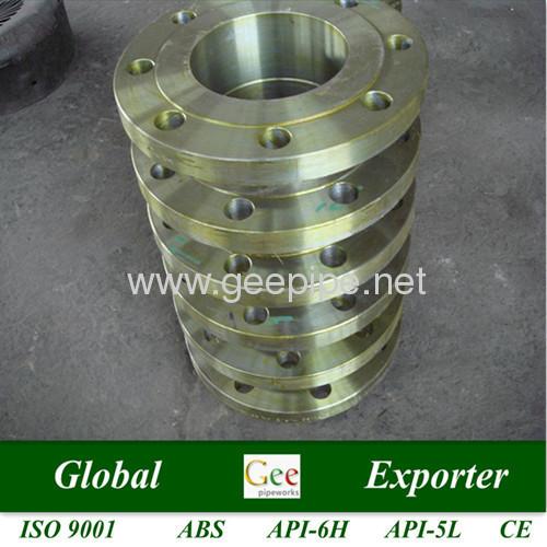 ASME B16.5 seamless alloy steel wn flange