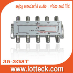 5-2400MHZ LOTTECK 35-3G8T 8-WAY TAP