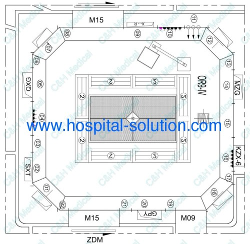 Total Solution For Modular Operating Theatre For Hospital