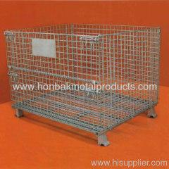 steel mesh storage bins