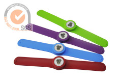 Promo Silicone & Rubber Slap Watch