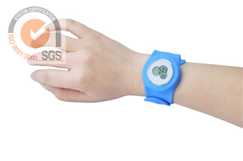 SGS silicone wrist watch as best promotional gift