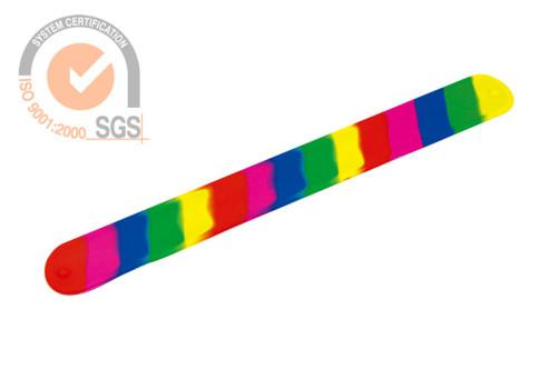 Promo Slicone & Rubber wrist Bank in colorful