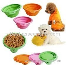 Folden bowl hot selling silicone fold bowl as seen on tv