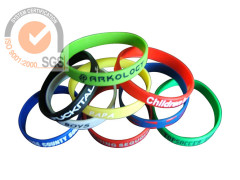 Promo Silicone & Rubber Wrist Band with Printed