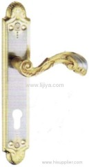hidden door handle lock