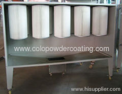 Batch Powder Coating Booths