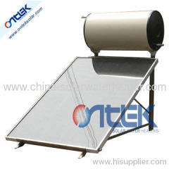 solar water heater of flat panel 150L solar water heater
