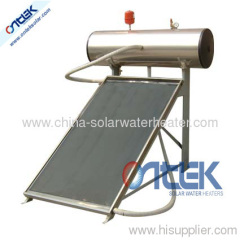 roof style compact high pressure solar water heater