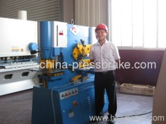 multi functional hydraulic ironworker machine