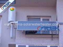 balcony wall type solar water heater, flat panel type 100L to 250L water heater