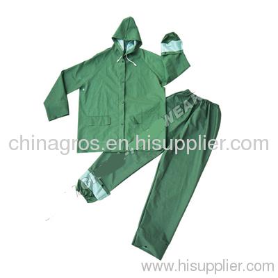 PVC Raincoat Waterproof Raincoat PVC pu Farmer Raincoats