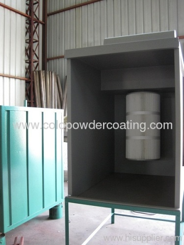 Leading manufacturer in China of powder coating booth small