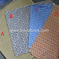 100% cotton fabric poplin Transportation printed