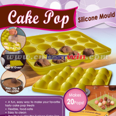 Silicone Cake Pop Tray