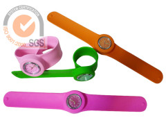 Fashion Silicone wristband watch in Colorful