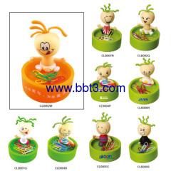 Kids shape promotional clip holder with magnet