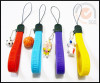 Colorful Silicone phone strap in Candy Color
