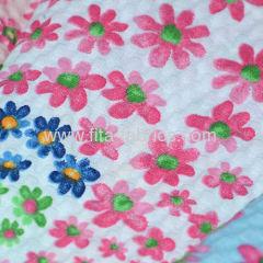100% cotton stripe seersucker fabric