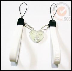 Fashional Silicone & Rubber phone Strap