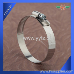 American type worm drive hose clamp