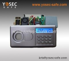LCD display Electronic Hotel safe locks with knob and override lock