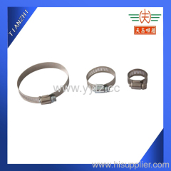 China Manufacturer Of worm gear Hose Clamp