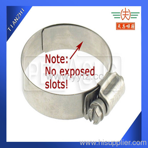 Extended Band Hose Clamp