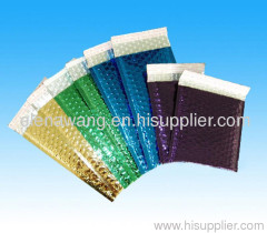 metallic foil bubble mailers color bubble mailers