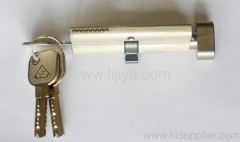 double turn door lock cylinder
