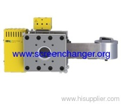 Automatic belt screen changer-plastic extrusi melt filter
