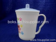 durable cheap plastic drinking cups with caps