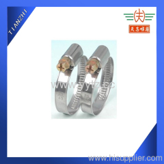 zinc plated german type hose clip