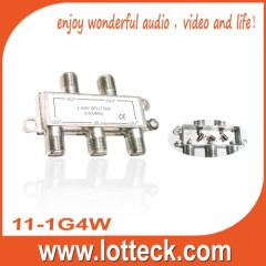 5-900MHZ CE APPROVED 11-1G4W 4-way splitter