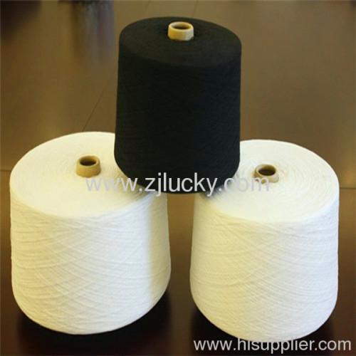 recycled colored cvc yarn