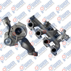 3C1Q-6K6B2-EA YC1Q-6K682-AD YC1Q6K682AD Turbo Charger for TR