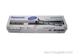 Black Laser Toner Catridge For Panasonic KX-FAT92A7