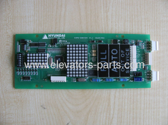 hyundai elevator parts hipd-can lift parts pcb