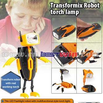 TRANSFORMIX ROBOT FLASHLIGHT AS SEEN ON TV