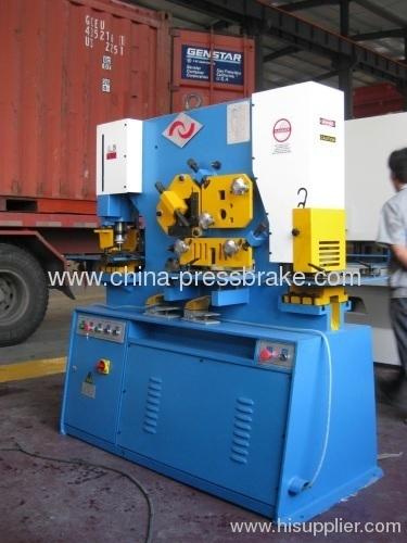 universal hydraulic ironworker machinery