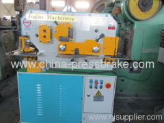 universal hydraulic ironworker machine