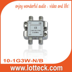 CE approved 10-1G3W-N/B 1 in 3 out 3-way tap