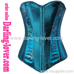 New Sexy Exclusive Blue Corset
