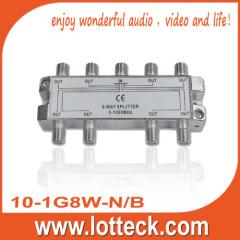 LOTTECK 10-1G8W-N/B 8-WAY SPLITTER