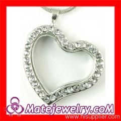Heart Shape Floating Charm Locket