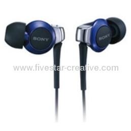Sony Stereo Headphones MDR-EX300SL Blue Inner Ear Headphones