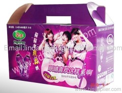 Corrugated Paper Carton with habdle China